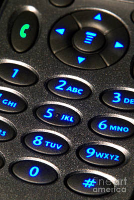 Keypad Photograph - Dial Up by Olivier Le Queinec