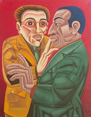 Dialog Painting - Dialogo by Jegofe