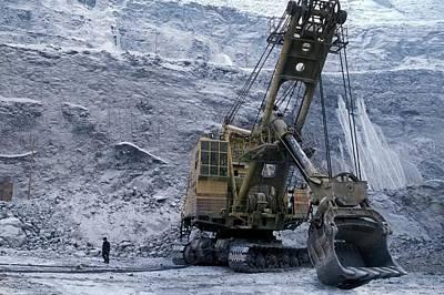 Siberia Photograph - Diamond Mine by Patrick Landmann