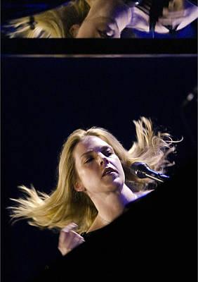 Jazz Pianist Photograph - Diana Krall by Rafa Rivas