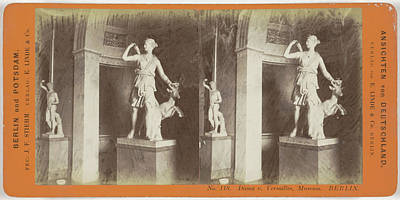 Berlin Drawing - Diana V. Versailles France Museum Berlin by Artokoloro