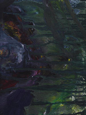 Of A Pig Painting - Diary Of A Cannibal by Sir Josef - Social Critic - ART