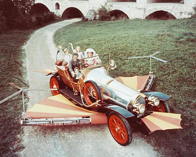 Van Dyke Photograph - Dick Van Dyke In Chitty Chitty Bang Bang  by Silver Screen