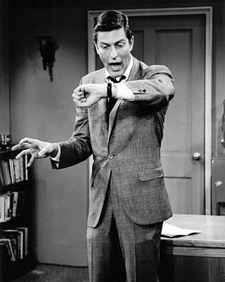 Van Dyke Photograph - Dick Van Dyke In The Dick Van Dyke Show  by Silver Screen