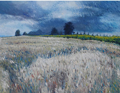 Painting - Diemersfontein Cape Town South Africa by Enver Larney