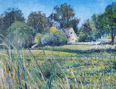 Painting - Diemersfontein Western Cape South Africa by Enver Larney