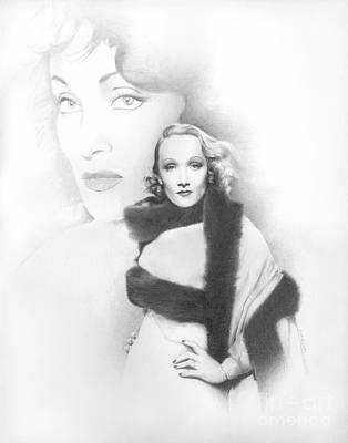 Dietrich Print by TPD Art