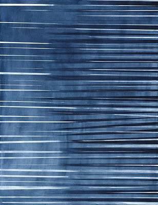 Zebra Painting - Diffuse Shapes by Hakon Soreide