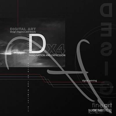 Computer Art Digital Art - Digital Age X4 by Franziskus Pfleghart