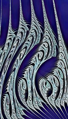 Idea Digital Art - Digital Carvings by Anastasiya Malakhova