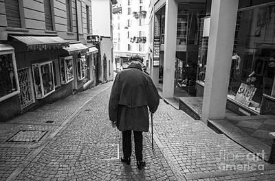 Ticino Photograph - Dignity by Ning Mosberger-Tang