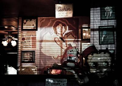 Peggy Sues Diner Photograph - Diner Retro by Ellen and Udo Klinkel