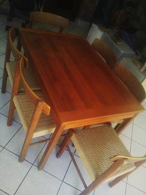 Basilio Photograph - Dining Room Table by Unique Consignment