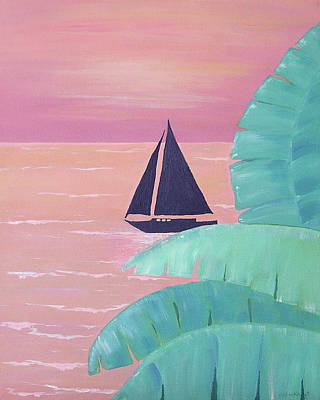 Grande Painting - Dinner Cruise by Debbie Kiewiet