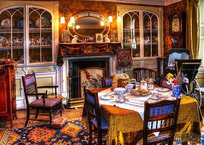 Dinning Room Print by Svetlana Sewell