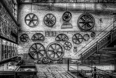 Llanberis Photograph - Dinorwig Quarry Workshop V2 by Adrian Evans