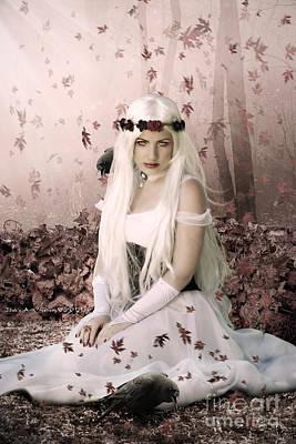Gothic Digital Art - Dione by Babette Van den Berg
