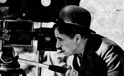 Directed By Charlie Chaplin Print by Florian Rodarte