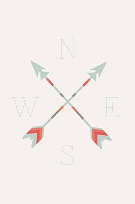 Festival Digital Art - Directional Arrows by Sara Habecker