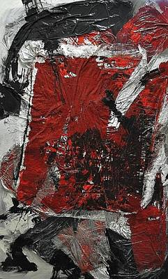Nitsch Painting - Dirty Ocean by Cornelius Richter