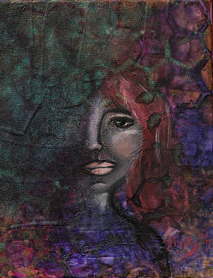 Redhead Mixed Media - Disappearance Of Sophie by Donna Blackhall