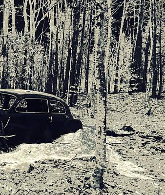 Discard Photograph By Mim White