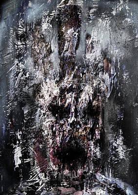 Nice Teeth Digital Art - Disgusting Face by Nguyen Duc Minh