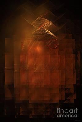 Disintegration  Print by Elizabeth McTaggart