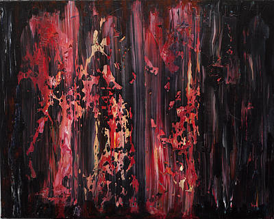 Disintegration Painting - Disintegration by Robert Horvath