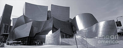 Disney Concert Hall - 02 Print by Gregory Dyer