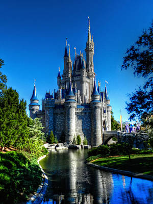 Castle Photograph - Disney Hdr 002 by Lance Vaughn