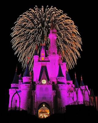 Magic Kingdom Photograph - Disney Magic by Benjamin Yeager