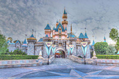 High Tower Photograph - Disney Magic by Heidi Smith