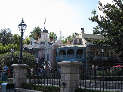 Scream Photograph - Disneyland Park Anaheim - 121224 by DC Photographer