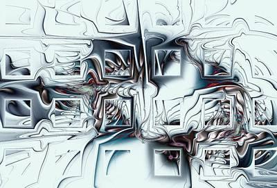 Connect Mixed Media - Disorganized Complexity by Anastasiya Malakhova