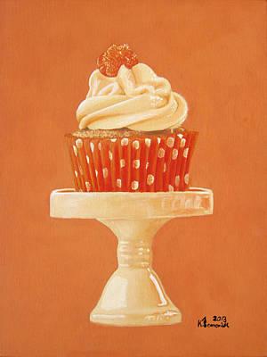 Muffins Painting - Display Of Orange by Kayleigh Semeniuk