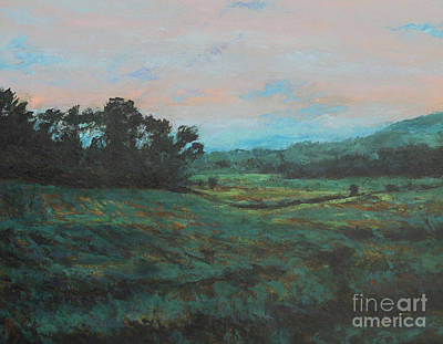 Introspective Painting - Distant Fields by Gregory Arnett