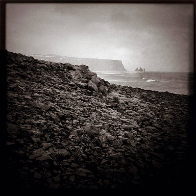 Basalt Photograph - Distant Stacks by Dave Bowman