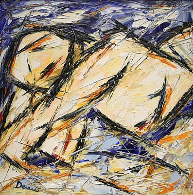 Quadri Painting - Distesa by Enrico Nicodemo