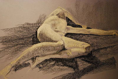 Joy Dinardo Bradley Dinardo Designs Painting - Distraught by Joy Bradley