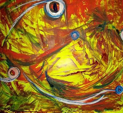 Comfort Painting - Disturbia by Karen Lillard