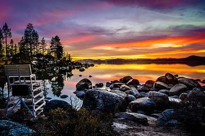 Sand Harbor Photograph - Diver's Cove Lake Tahoe by Scott McGuire