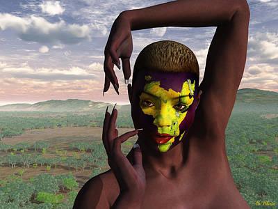 Diversity - Africa Original by Williem McWhorter