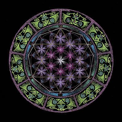 Divine Feminine Energy Original by Keiko Katsuta