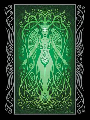 Divine Life V.2 Print by Cristina McAllister