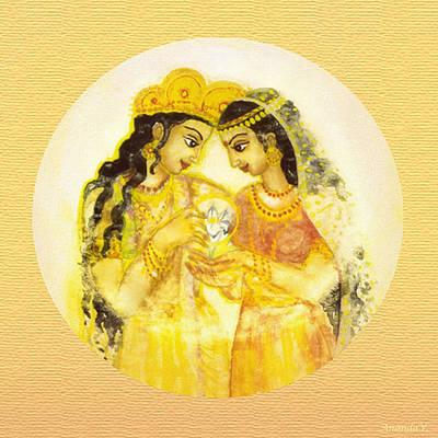 Divine Love - Detail Print by Ananda Vdovic