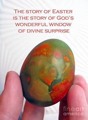 Divine Surprise Print by Ausra Huntington nee Paulauskaite