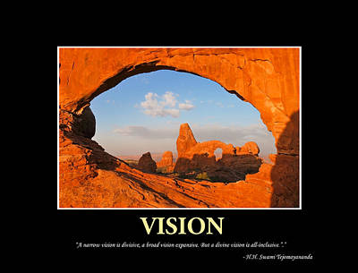 Inspirational Photograph - Divine Vision by Gregory Ballos