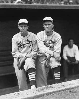 Sports Photograph - Dizzy Dean Cardinals by Retro Images Archive