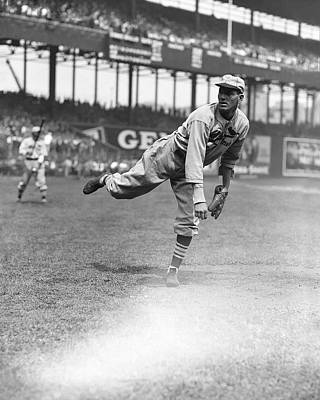 Dizzy Dean Pitching Print by Retro Images Archive